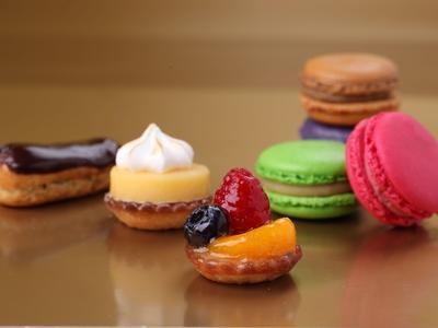 Kuchen, Petits fours & Macarons